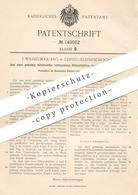 Original Patent - F. Wilhelm Quarg , Leipzig / Kleinzschocher , 1903 , Pinselvorband Aus Hülsen   Pinsel   Maler !!! - Documents Historiques