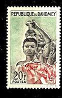 DAHOMEY 183° 20f Vert, Noir Et Rouge Féticheuses (10% De La Cote + 015) - Bénin – Dahomey (1960-...)