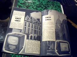 Publicitée  RADIO    Television Tourne Disque ..TSF CATALOGUE   DUCRETET THOMSON 8 Pages - Publicité
