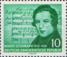 USED STAMPS OF DDR - The 100th Anniversary Of The Death Of Robert Schuman-1956 - Oblitérés