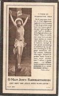 DP.OORLOG 14-18 LOUIS DESAEVER ° COXYDE 1892 - + GEVALLEN IN DE SLAG AAN DE IJZER 1914 - Religion & Esotérisme