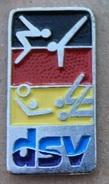 DSV - FEDERATION ALLEMANDE DE NATATION - FLAG GERMAN - NAGEURS - PLONGEON - WATER POLO -      (JAUNE) - Swimming
