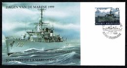 Belg. 1999 - 2811 Dagen Van De Marine / Journées De La Marine - De Wandelaar Zeebrugge 17-7-1999 - FDC
