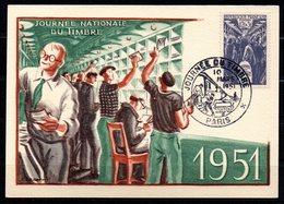 Journée Du Timbre 879 // Premier Jour FDC //  1 Carte // 10 Mars 1951 - FDC