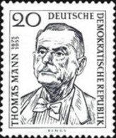USED STAMPS OF DDR -DDR - The 1st Anniversary Of The Death Of Thomas  Mann-1956 - Oblitérés
