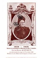 Souvenir De La Centenaire De MONTROEUL-AU-BOIS, 9 Novembre -Sylvie-Marie-Adélaïde Quiévreux Née à Forest-lez-Anvaing - Frasnes-lez-Anvaing