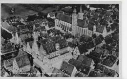 AK 0097  Rothenburg Ob Der Tauber Vom Flugzeug Aus Um 1940-50 - Rothenburg O. D. Tauber