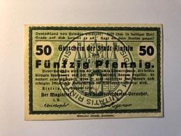 Allemagne Notgeld Allemagne Rinteln 50 Pfennig - [ 3] 1918-1933 : République De Weimar