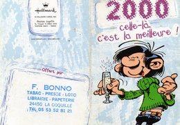 Lot De 2 Calendriers De Poche 2000  Offerts Pr F Bonno Tabac-Presse à La Coquille 24 - Petit Format : 1991-00