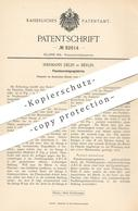 Original Patent - Hermann Delin , Berlin 1895 , Flaschenreinigungsbürste   Flaschen - Reinigung   Bürste , Bürstenmacher - Documents Historiques