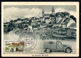Journée Du Timbre 1151 Facteur  // Premier Jour FDC //  1 Carte // 15 Mars 1958 - FDC