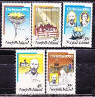 Norfolk 19854-Natale Serie Completa Nuova MNH** - Ile Norfolk
