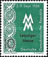 USED STAMPS OF DDR - Liepzig Fair-1956 - Oblitérés