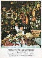 ESPANA-BARCELONA-RISTORANTE LOS CARACOLES-CASA BOFARULL - Alberghi & Ristoranti