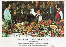 ESPANA-BARCELONA-RISTORANTE LOS CARACOLES-CASA BOFARULL - Hotels & Restaurants