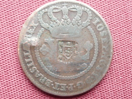 BRESIL Monnaie De 40 Reis 1760 Surfrappé - Brasil