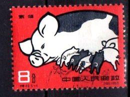 1960 China - Pig Breeding Achievements - Used MI 546 - 1949 - ... Volksrepublik