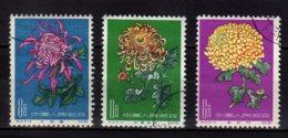 1961 China - Chrysanthemums / Chrysanthemen Used MI 577-579 - Gebraucht