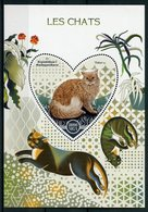 Madagascar 2017 MNH Domestic Cats Selkirk Rex 1v S/S Chats Pets Stamps - Domestic Cats