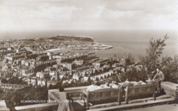 YORKS - SCARBOROUGH - FROM OLIVER'S MOUNT RP  Y2063 - Scarborough