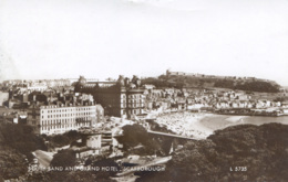 YORKS - SCARBOROUGH -SOUTH SAND AND GRAND HOTEL RP  Y2047 - Scarborough