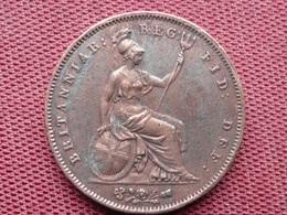 GRANDE BRETAGNE Monnaie De 1853 Diamètre 34 Mm - 1816-1901 : Frappes XIX° S.