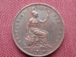 GRANDE BRETAGNE Monnaie De 1853 Diamètre 34 Mm - 1816-1901 : 19th C. Minting