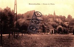MONTROEUL-AU-BOIS - Chemin De L'Eglise - Frasnes-lez-Anvaing