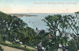 YORKS - SCARBOROUGH - VIEW FROM ST NICHOLAS GARDENS 1907 Y2595 - Scarborough