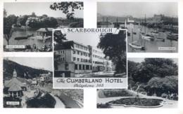 YORKS - SCARBOROUGH - THE CUMBERLAND HOTEL RP Y2572 - Scarborough