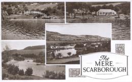 YORKS - SCARBOROUGH - THE MERE - 4 RP VIEWS Y2163 - Scarborough