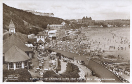 YORKS - SCARBOROUGH - SOUTH CLIFF GARDENS CAFE AND SOUTH BAY RP Y2029 - Scarborough