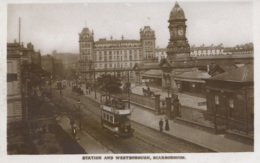 YORKS - SCARBOROUGH - STATION AND WESTBOROUGH RP Y2125 - Scarborough