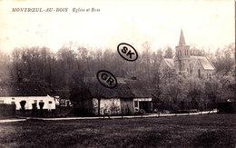 MONTROEUL-AU-BOIS - Eglise Et Bois - Frasnes-lez-Anvaing