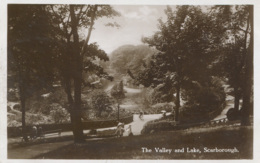 YORKS - SCARBOROUGH - THE VALLEY AND LAKE RP Y2019 - Scarborough