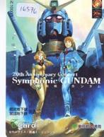 Carte Prépayée Japon * MANGA * SYMPHONIC GUNDAM * (16.576) COMIC * ANIME Japan Prepaid Card * CINEMA * FILM - Comics