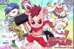 Carte Prépayée Japon * MANGA * (16.577) COMIC * ANIME Japan Prepaid Card * CINEMA * FILM - BD