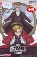 Carte Prépayée Japon * MANGA * FULLMETAL ALCHEMIST  * (16.581) COMIC * ANIME Japan Prepaid Card * CINEMA * FILM - BD