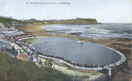 YORKS - SCARBOROUGH - THE BATHING POOL, SOUTH SIDE Y2636 - Scarborough