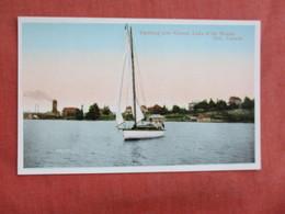 Canada > Ontario    Yachting Near Kenora  Lake Of Woods     Ref 3094 - Ontario
