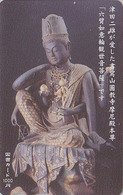 Carte Prépayée Japon - Culture Tradition Religion - BOUDDHA - Japan Prepaid Tosho Card - 256 - Culture
