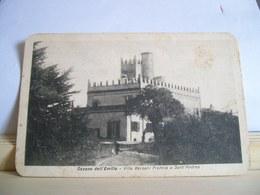 1936 - Bologna - Ozzano Dell'Emilia - Villa Bersani Francia A Sant'Andrea - Castello - Cartolina Storica - Ed. Martelli - Bologna