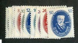 W-9190  Mi.#261-70*  ( Cat.40.00 € )  Offers Welcome-over 61000 Items! - [6] République Démocratique