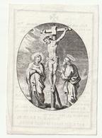 Zeer Oud Doodsprentje Petrus GILLART Antwerpen 1828 En Zijn Huisvrouw Maria Theresia STIENLET Rotterdam 1830 - Devotion Images