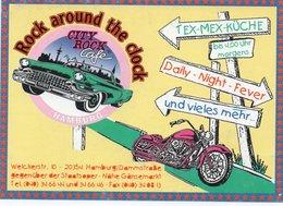 GERMANY-ROCK AROUND THE CLOCK-CITY ROCK CAFE - Pubblicitari