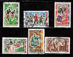 DAHOMEY 205/210° Danses Folkloriques (10% De La Cote + 015) - Bénin – Dahomey (1960-...)