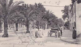 BOUFARIK          LE BOULEVARD NATIONAL - Otras Ciudades