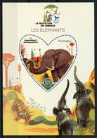 Madagascar 2017 MNH Elephants Elephant 1v S/S Mammals Wild Animals Stamps - Elephants