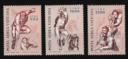 Vatikaan 1976 Luchtpost Nr 60/62 **, Zeer Mooi Lot Krt 4046 - Poste Aérienne