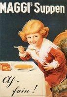 MAGGI S SUPPEN-MAGGI WERBUNG VON 1920 - Pubblicitari